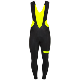 Etxeondo Biko Bib Tight Men Black-Yellow-Fluor
